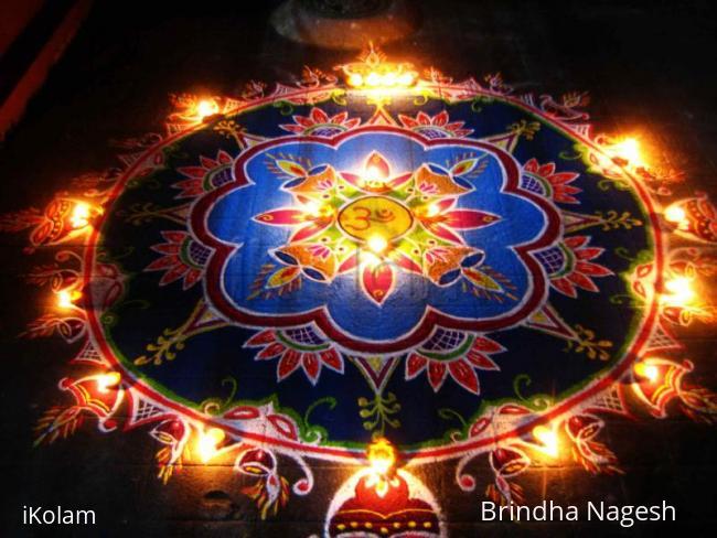 Rangoli: Happy Diwali Kolam - 2