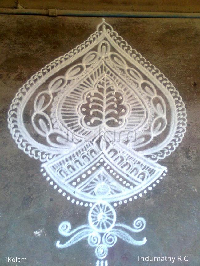 Rangoli: margazhi special rangoli
