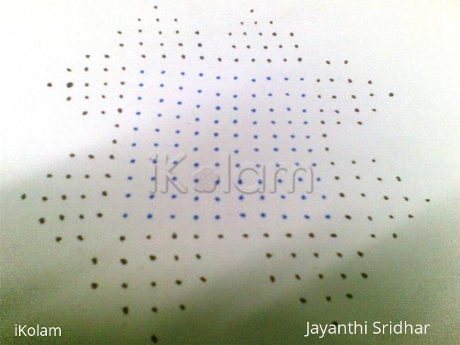 Rangoli: Dots Details for the contest kolam - Jasree