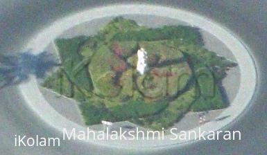 Rangoli: Kolam in Grass