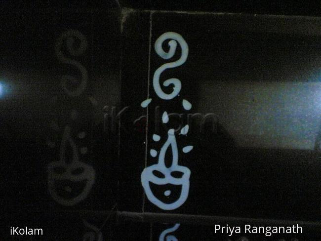 Rangoli: Padi Boder Design