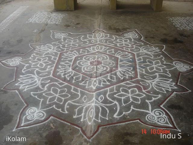 Rangoli: Kolam for Boghi