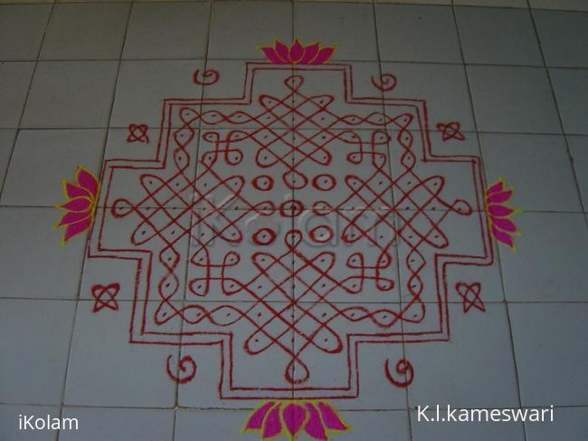 Rangoli: Chikku Kolam Bhogi