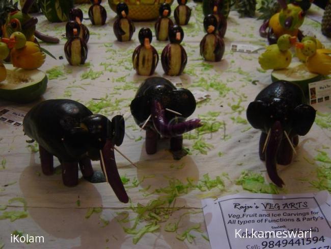 Rangoli: Veggi Art