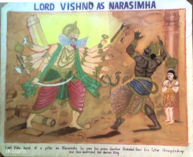 Rangoli: Painting 4