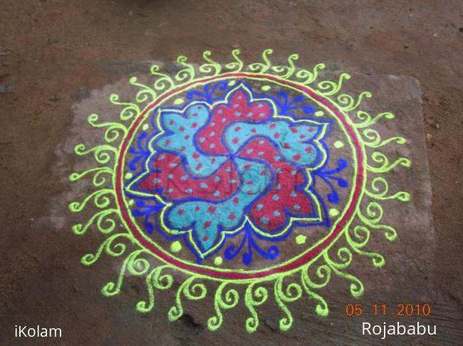 Rangoli: markali rangoli