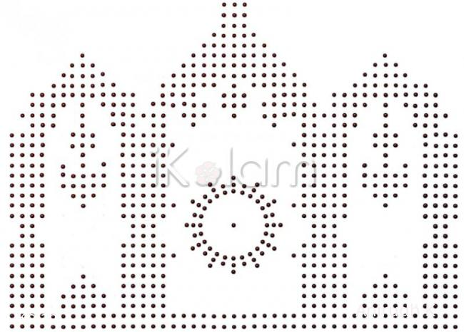Rangoli: Margazhi dew drops kolam contest 2011 - God's decorated entrance - dot grid