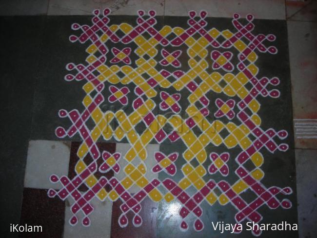Rangoli: For margazhi kolam contest-2011