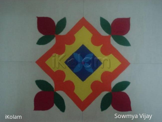 Rangoli: Margazhi kolam-11