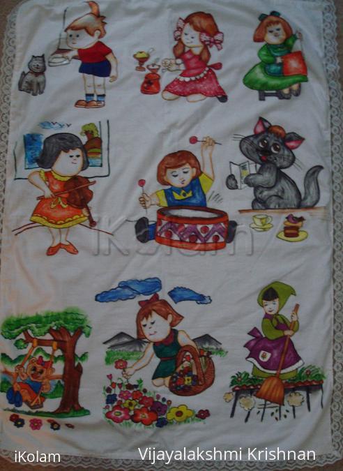 Rangoli: Painting done by radhika