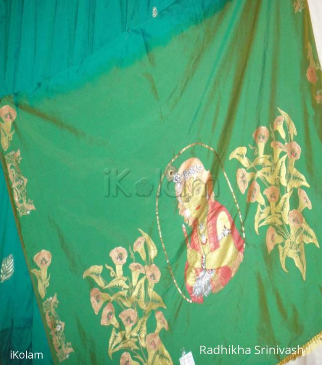 Rangoli: saree painting