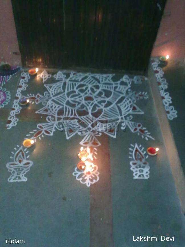 Rangoli: karthigai special