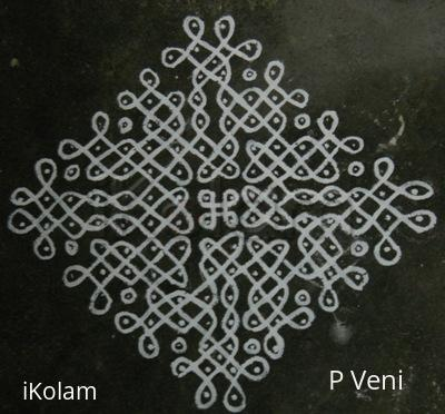 Rangoli: Sikku Kolam - 82
