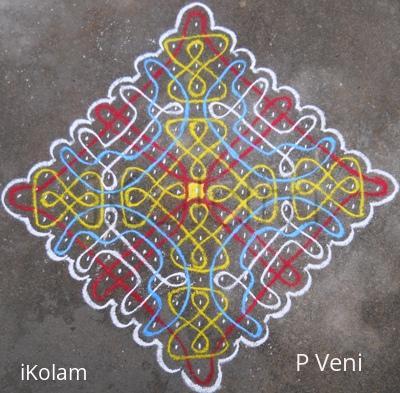 Rangoli: Sikku Kolam - 87