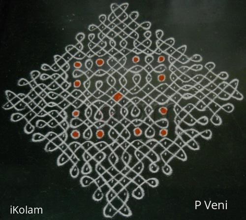Rangoli: Sikku Kolam - 98