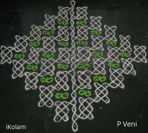 Rangoli: Sikku Kolam - 101