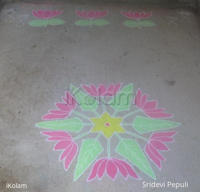 Rangoli: Dotted kolam 13-7