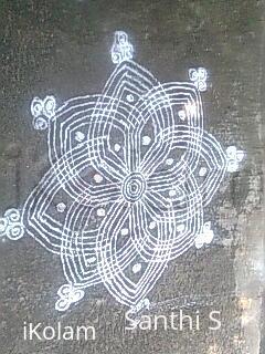 Rangoli: traditional