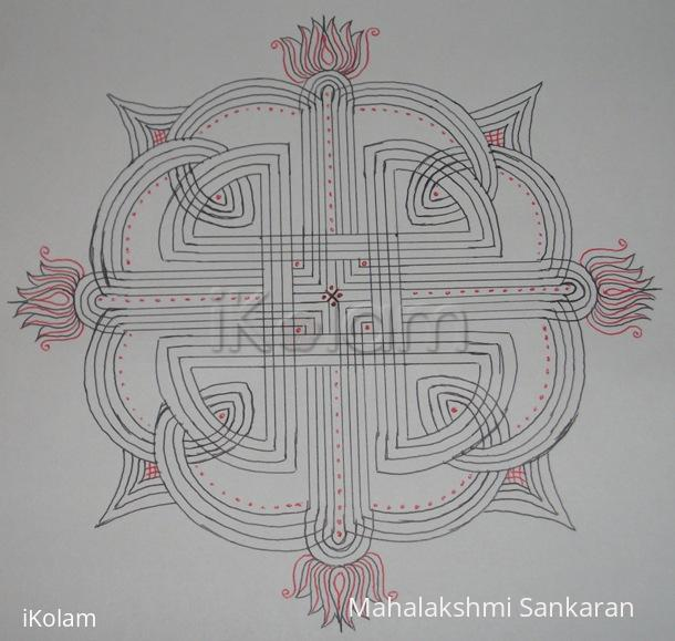 Rangoli: Guess this kolam