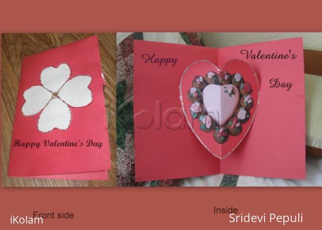 Rangoli: Valentines's Day Greeting Card 2011