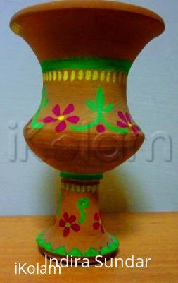 Rangoli: Pot Painting