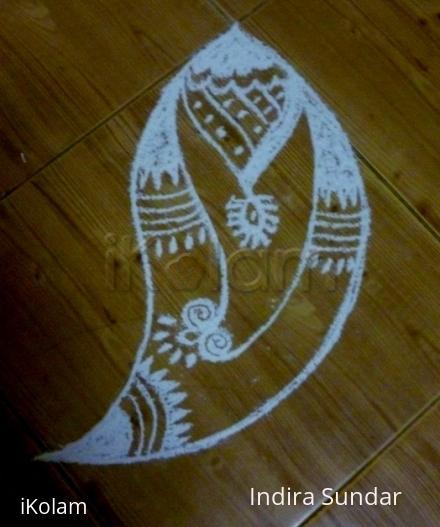 Rangoli: Pendent Design