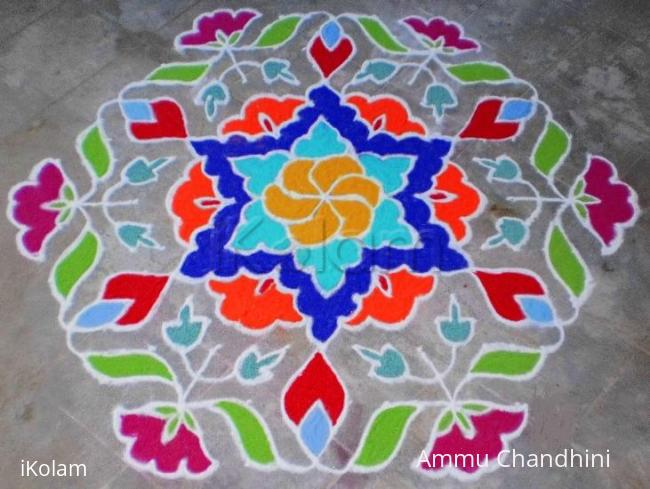 Rangoli On Ugadi Ikolam