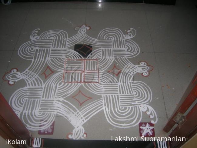 Rangoli: Vinayagar chathurthi kolam