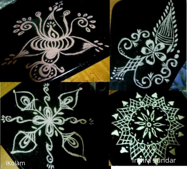 Rangoli: Collage of Black Beauties