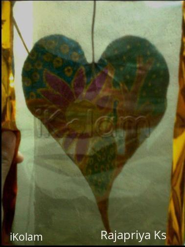 Rangoli: Leaf painting