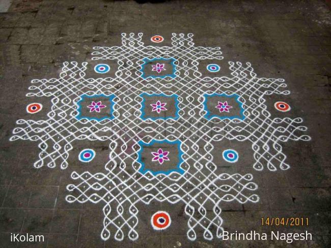 Rangoli: Tamil New Year's Day