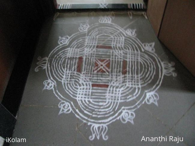 Rangoli: Navarathri Makolam