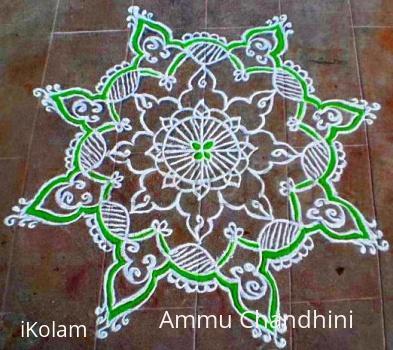 Rangoli: PURATTAASI 3rd SATURDAY KOLAM