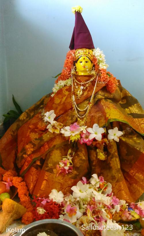 Rangoli: varalakshmi vratam- lakshmi pooja