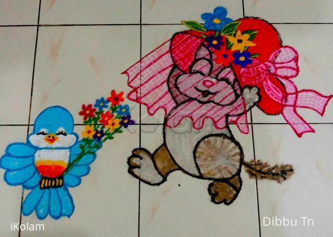 Rangoli: Happy Birthday Laks
