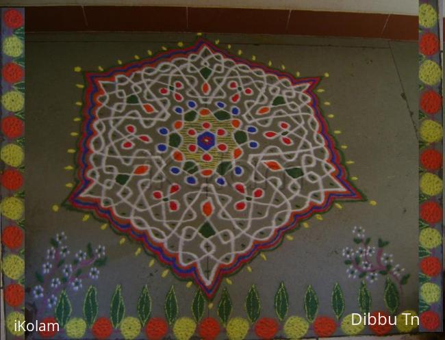 Rangoli: Happy Ugadhi