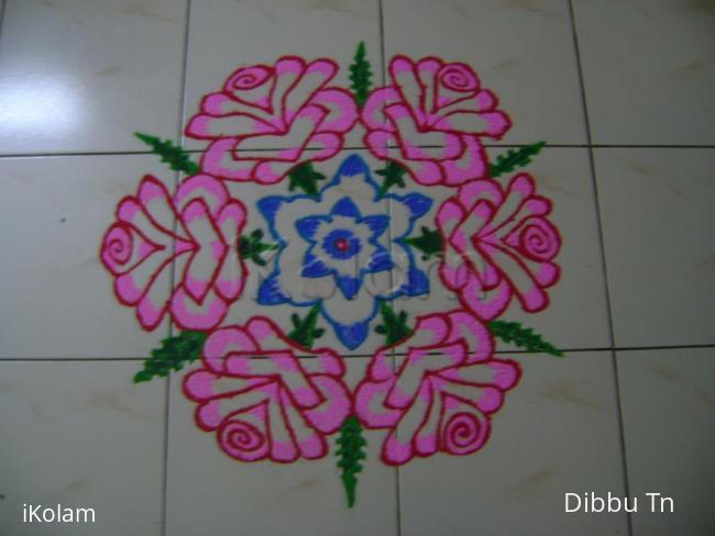Rangoli: Podikolam