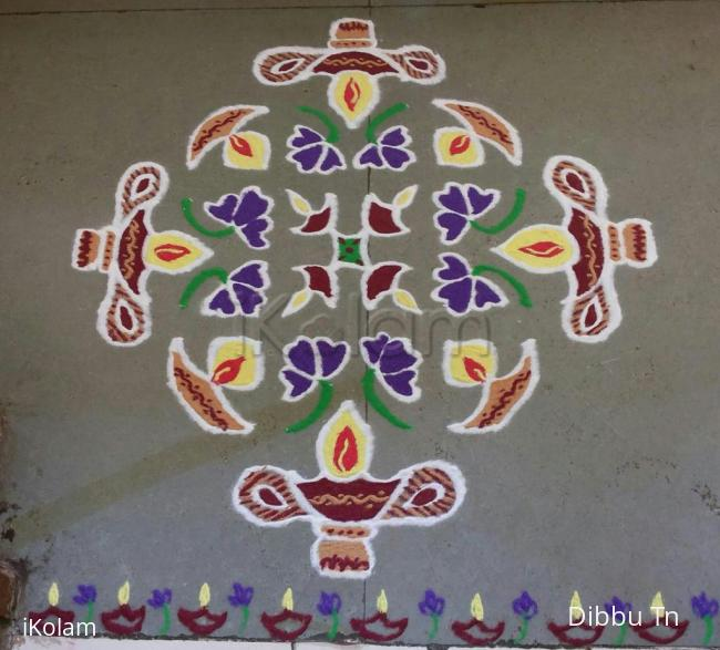 Rangoli: Margazhi Day 7 Kolam