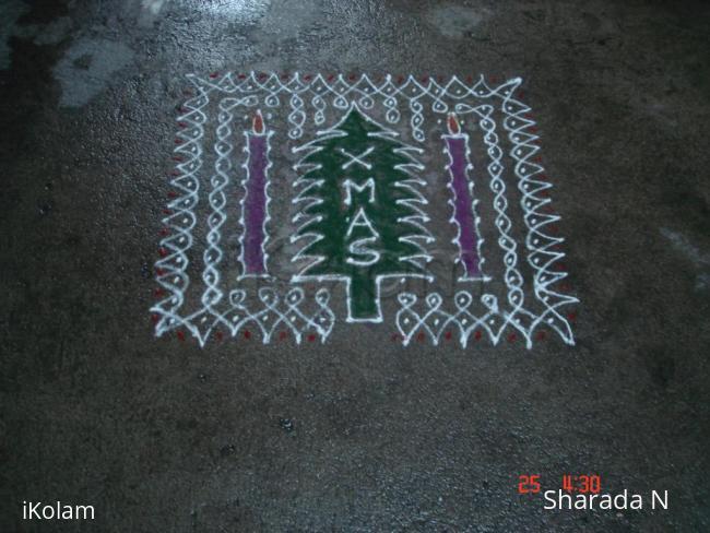Rangoli: Dotted
