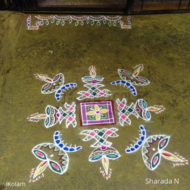 Rangoli: Deepavali Rangoli