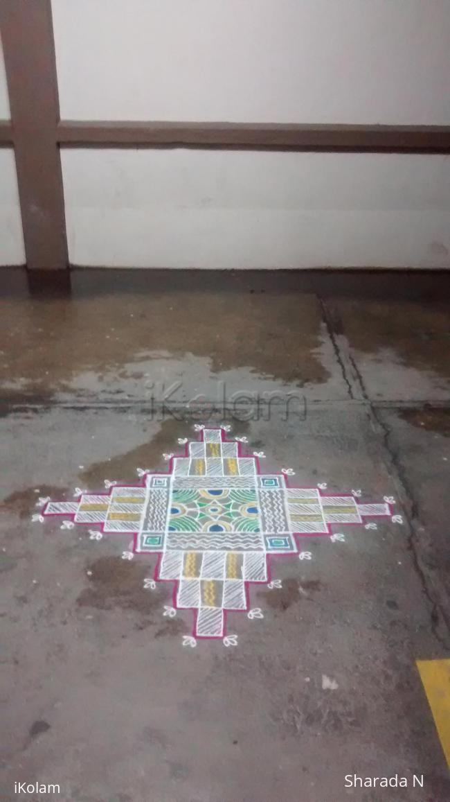 Rangoli: Padi kolam