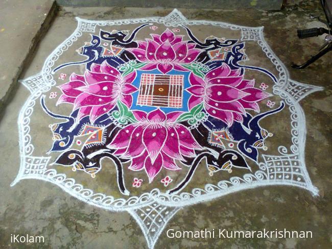 Rangoli: Margazhi Utsavam Day-13 (Friday)