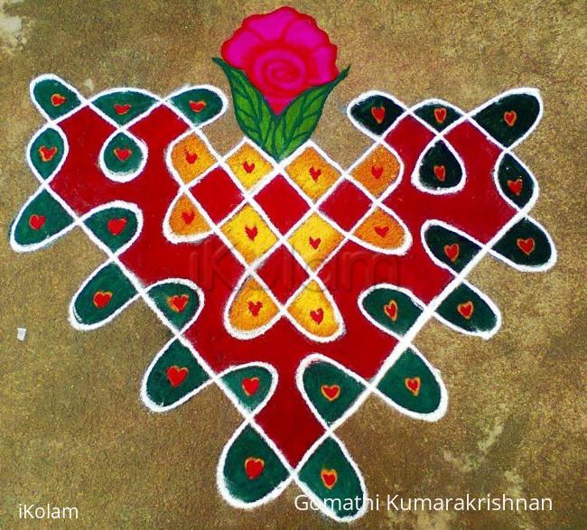 Rangoli: Valetines Day