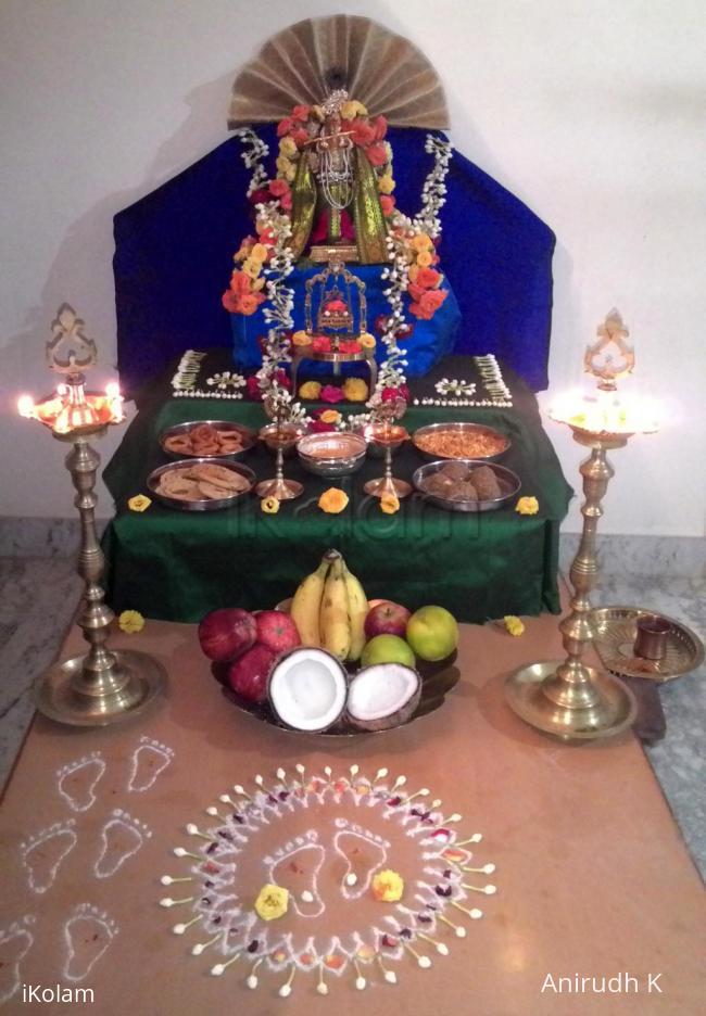Rangoli: Shri Krishna Janmastami 2016