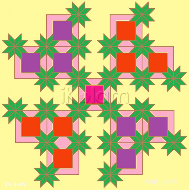 Rangoli: Jayaji's puzzle - 1