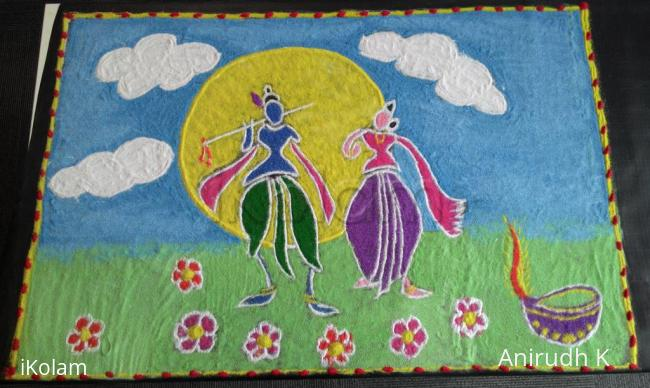 Rangoli: Deepavali Rangoli Contest at office