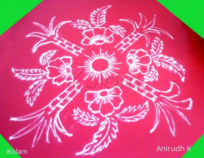 Rangoli: Happy Sankranthi - 2016