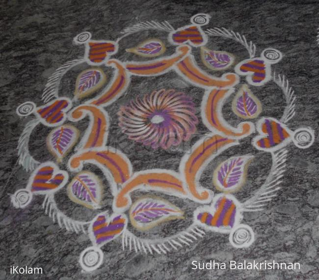 Rangoli: Marghazi kolam 5