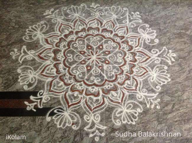 Rangoli: Aadi amavasya kolam