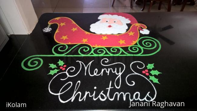 Rangoli: 2016-Christmas Santa